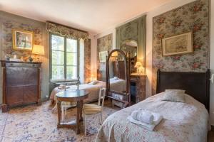 chambre Empire - Château de La Caillotière